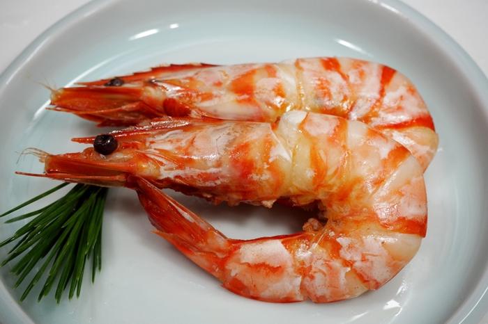 古希祝いのお祝い料理 海老のうま煮